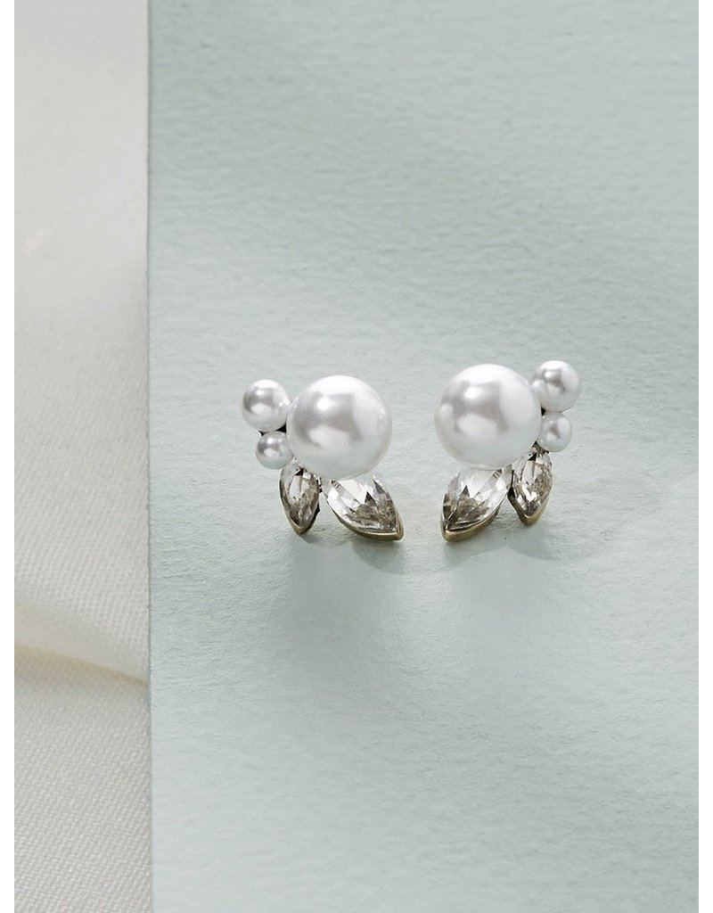 Olive + Piper Mischa Studs 14k Gold Plated
