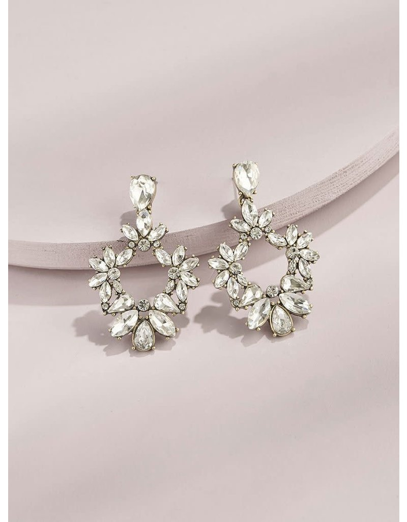 Olive + Piper Olivia Drop Earrings 14k Gold Plated