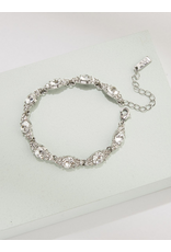 Olive + Piper Chole Bracelet Rhodium Plated