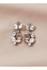 Olive + Piper Domenica Earrings in Silver