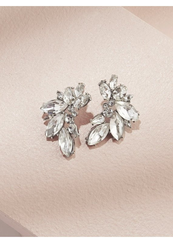 Olive + Piper Porter Cluster Studs in Silver