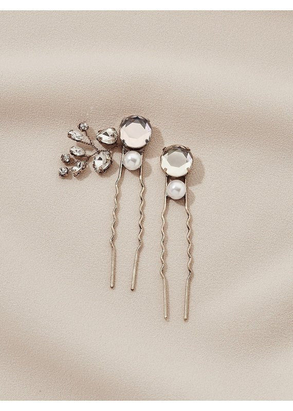 Olive + Piper Ava Hairs Pins (Set of 2) Gold