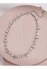 Olive + Piper Aurora Collar Rhodium Plated