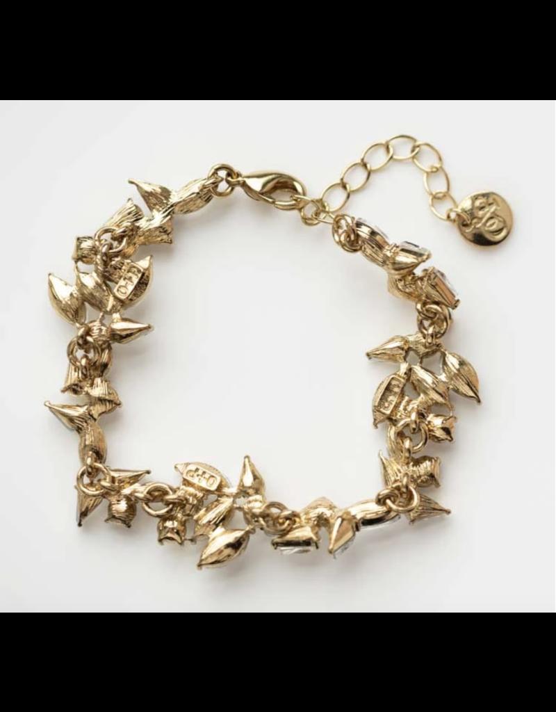 Olive + Piper Parker Bracelet 14k Gold Plated