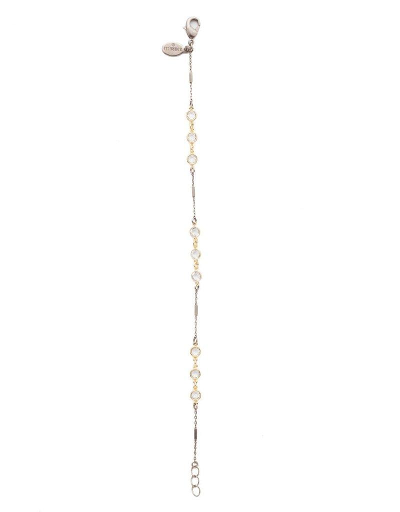 Sorrelli Rayna  Crystal Tennis Bracelet