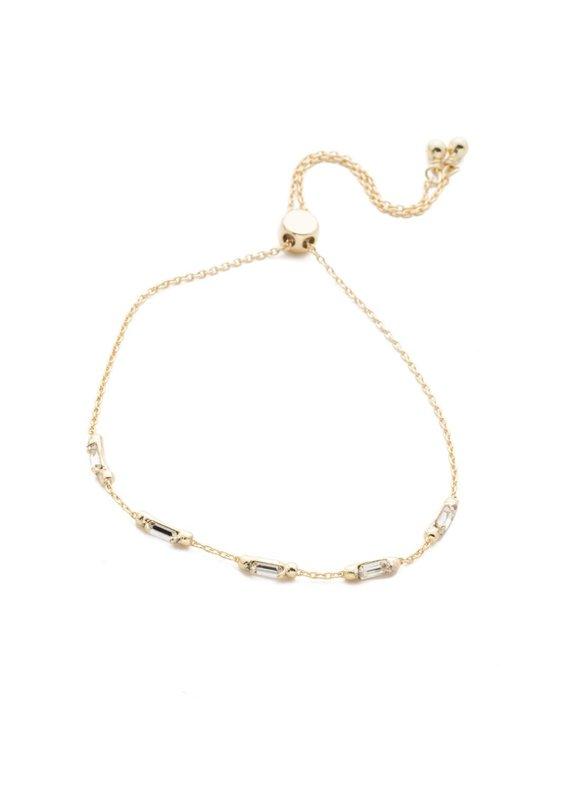 Sorrelli Ria Crystal Slider Bracelet