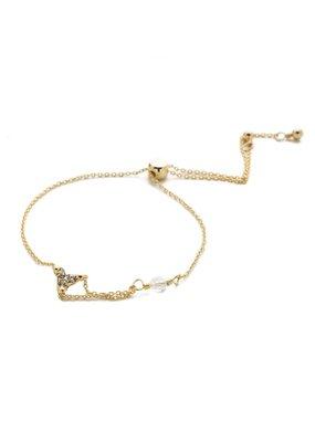 Sorrelli Halia Trinity Slider Bracelet