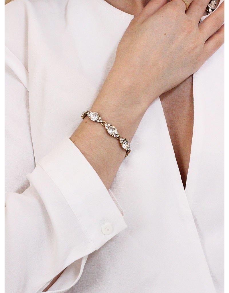 Olive + Piper Chole Bracelet 14k Gold Plated