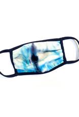 Light Blue Kids Face Mask w Metal Nose Pinch