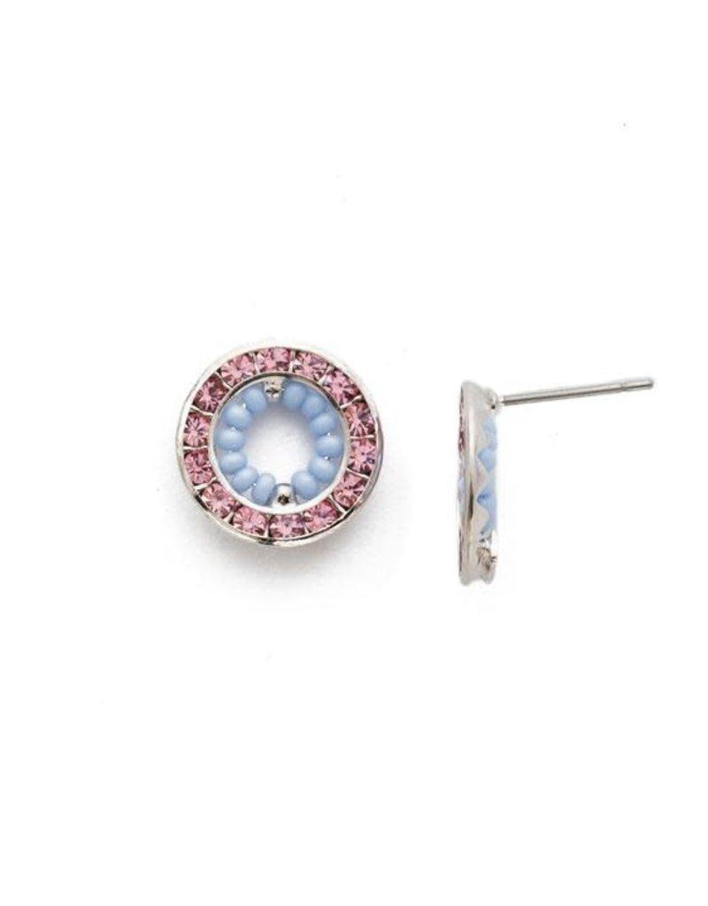 Sorrelli Fire & Ice Stud Earrings