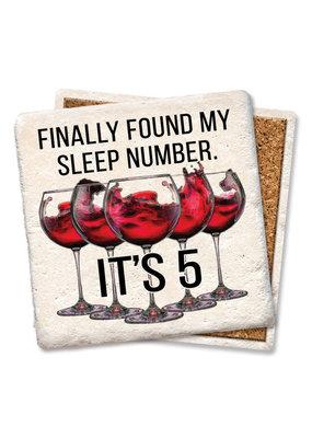 Tipsy Coasters Finally Found My Sleep Number Coaster