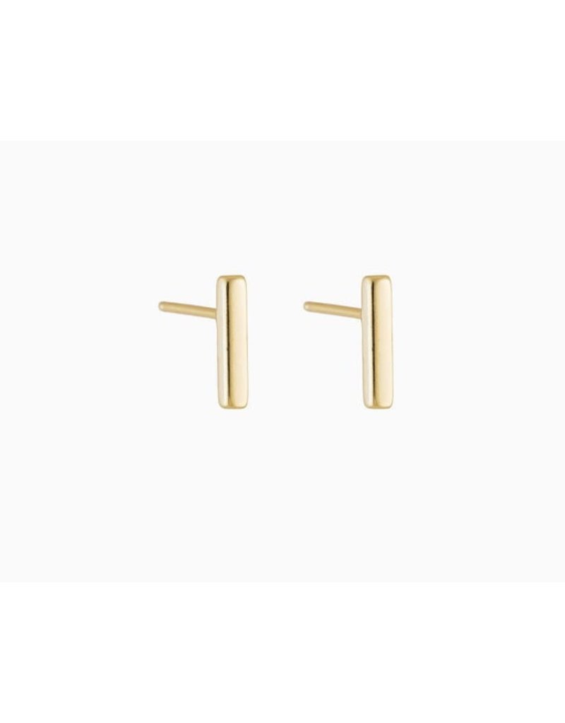Modern Opus Long Bar Post Earring