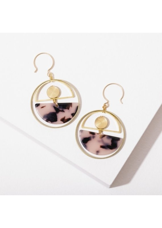 Larissa Loden Nagoski Earrings Tortoise