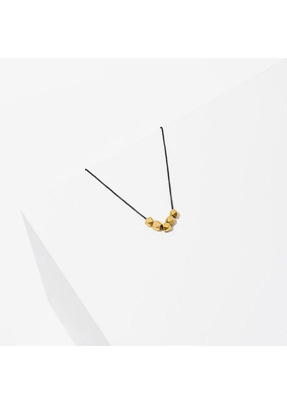 Larissa Loden Ophelia Necklace Black