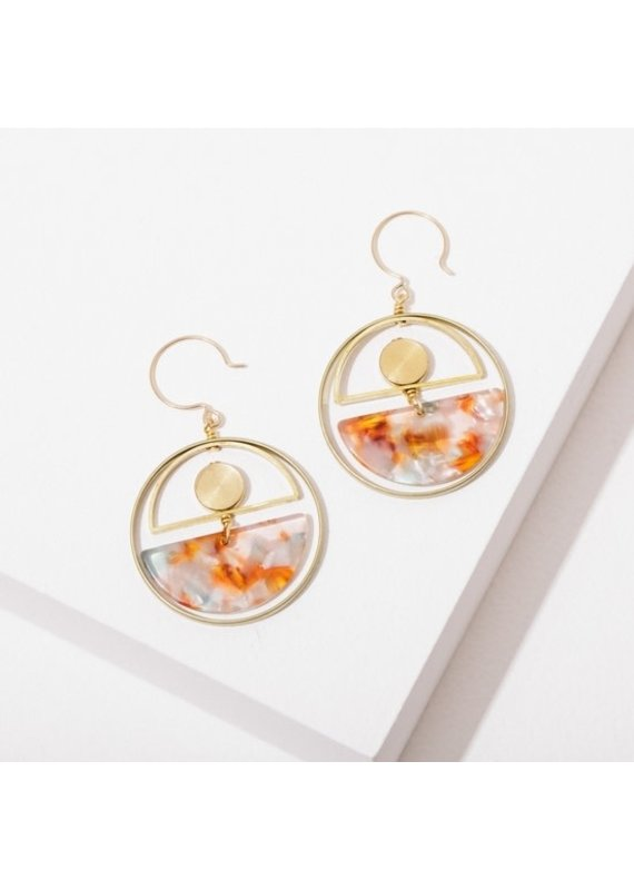 Larissa Loden Nagoski Earrings Amber
