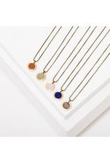 Larissa Loden Brene Rainbow Moonstone Necklace
