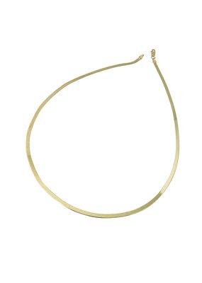 """Modern Opus Herringbone 16"""" Necklace"""