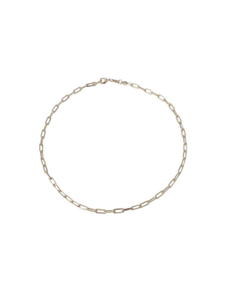 "Modern Opus 18k Gold-Filled 20"" Medium Clip Chain"