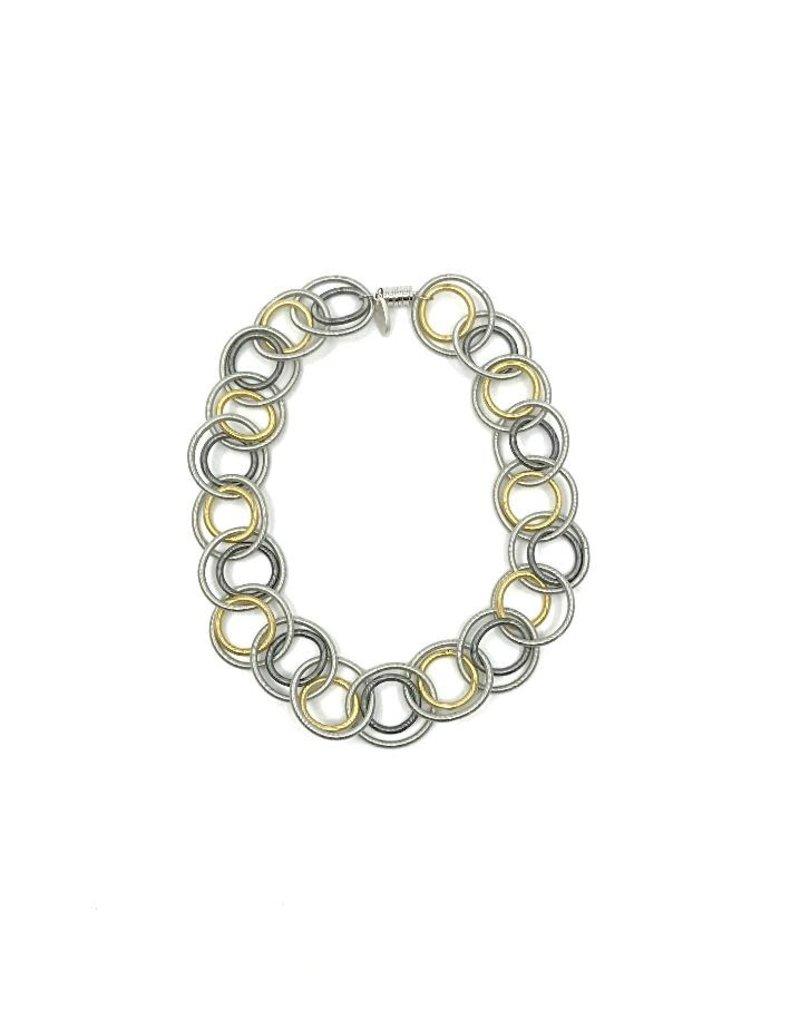 Sea Lily Multi Short Loop Necklace