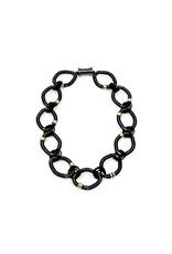 Sea Lily Palm Beach Necklace Black