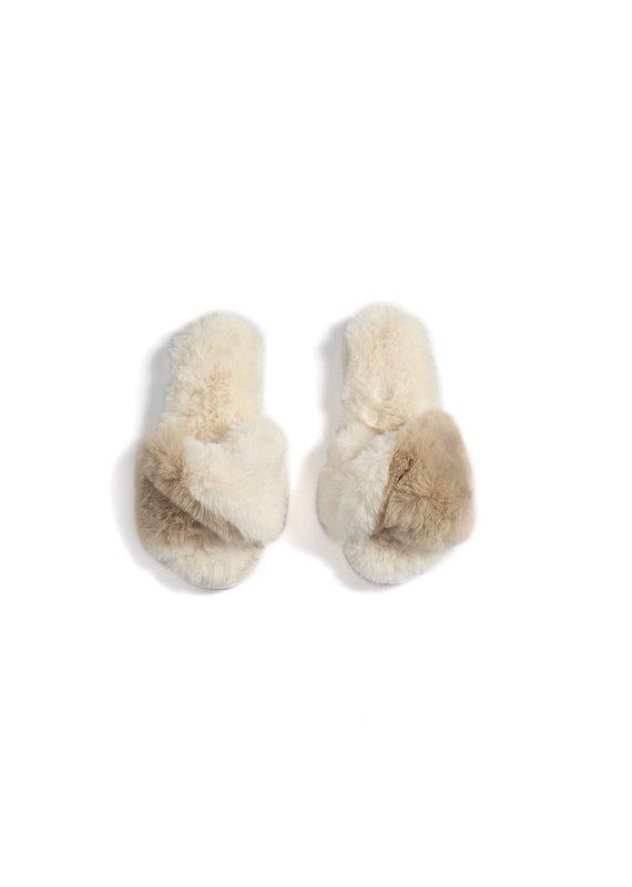 Shiraleah Ivory Stowe Slippers