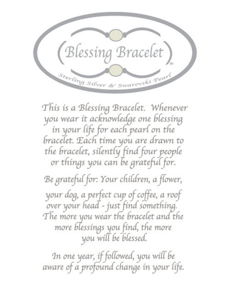 Made as Intended Pink Pearl Small Blessing Bracelet