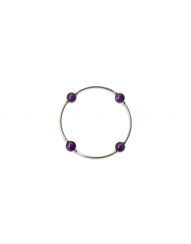 Made as Intended Amethyst Small Blessing Bracelet