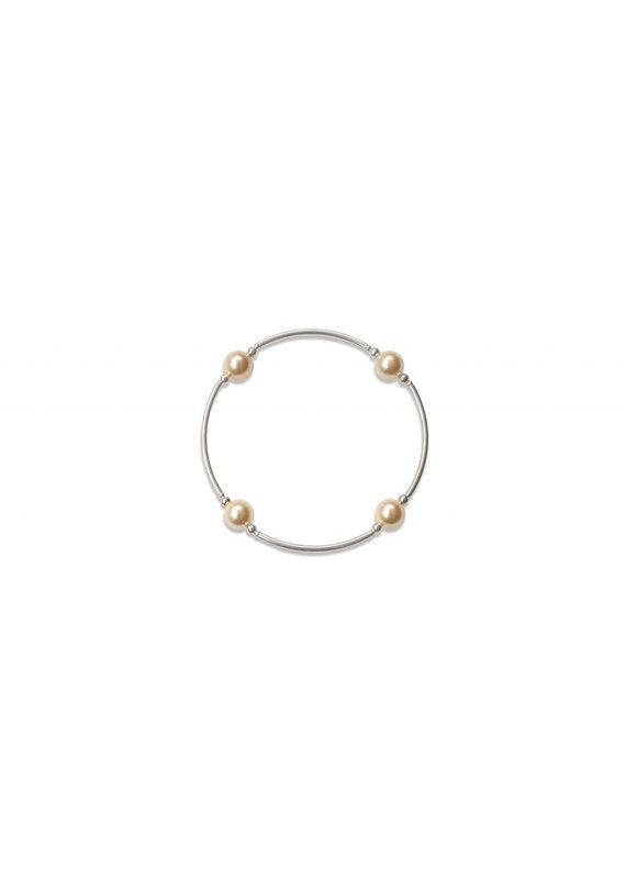 Made as Intended Light Gold Pearl Small Blessing Bracelet