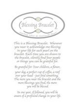 Made as Intended Angelite Large Blessing Bracelet