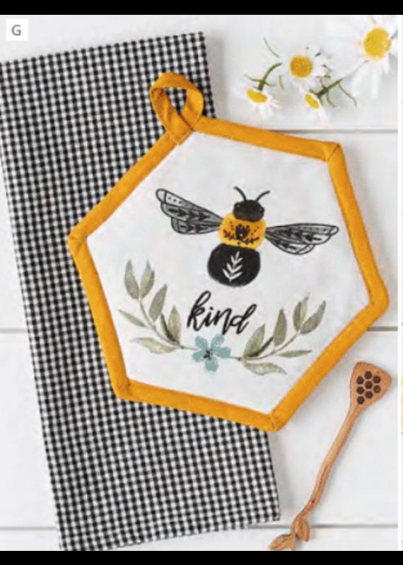 Design Imports Sweet Bee Potholder Gift Set