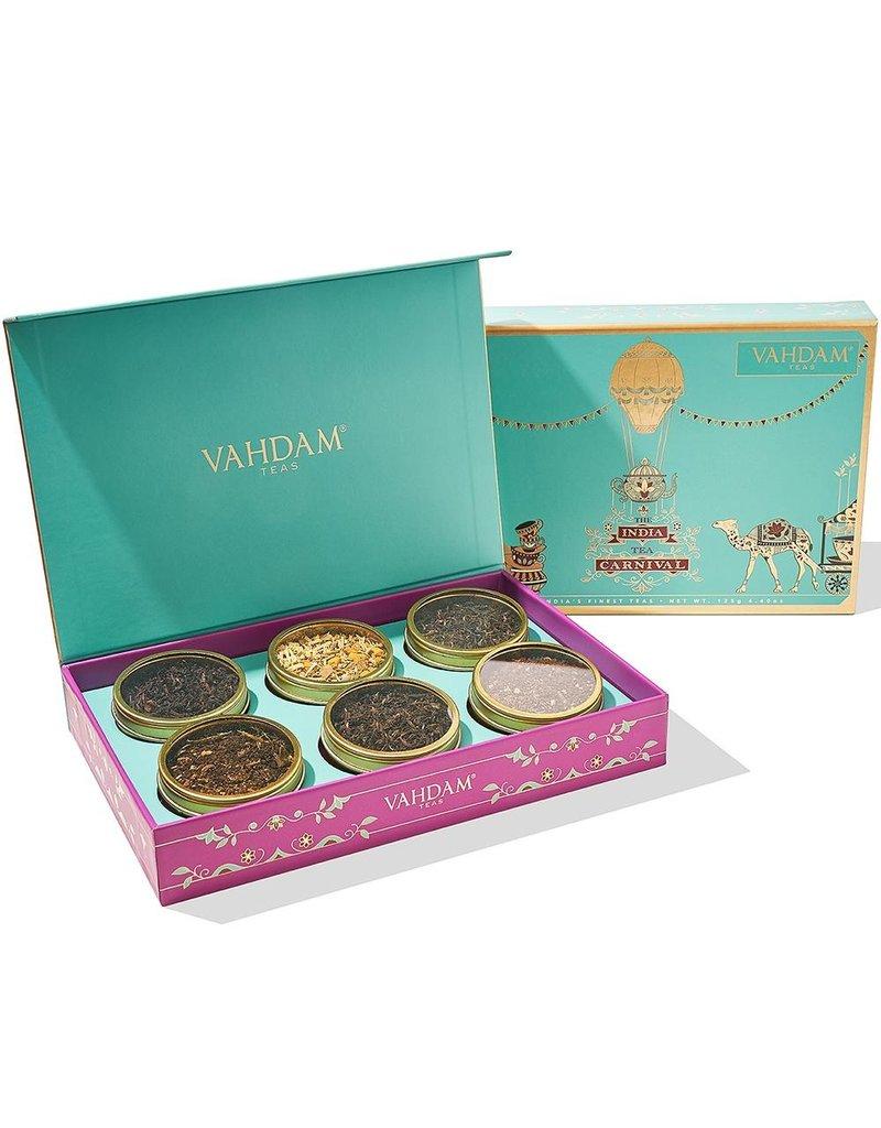 Vahdam Teas The India Tea Carnival Gift Set