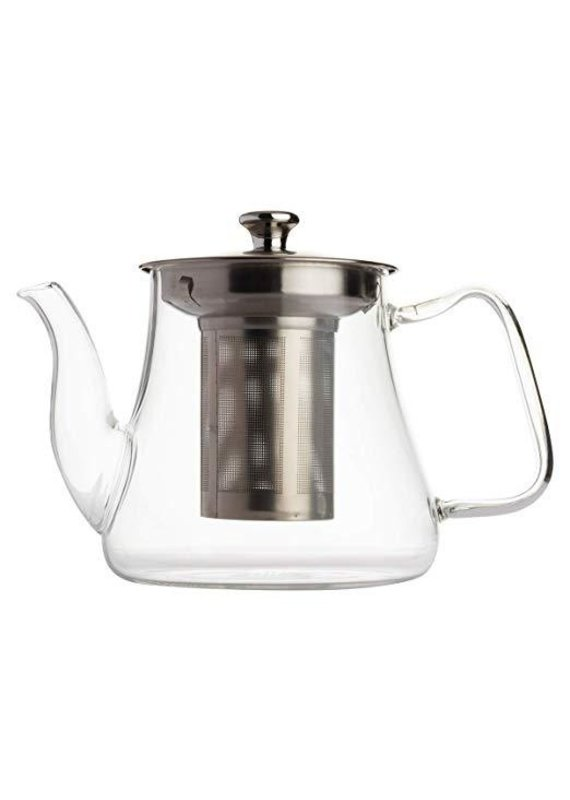 Vahdam Teas Radiance Glass Teapot