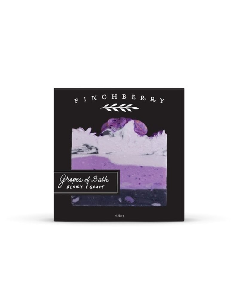 FinchBerry Grapes of Bath Boxed Soap