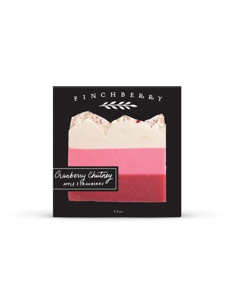 FinchBerry Cranberry Chutney Boxed Soap