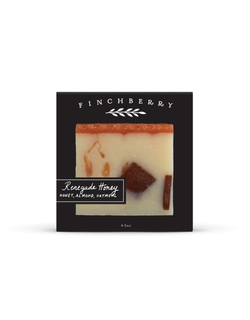 FinchBerry Renegade Honey Boxed Soap