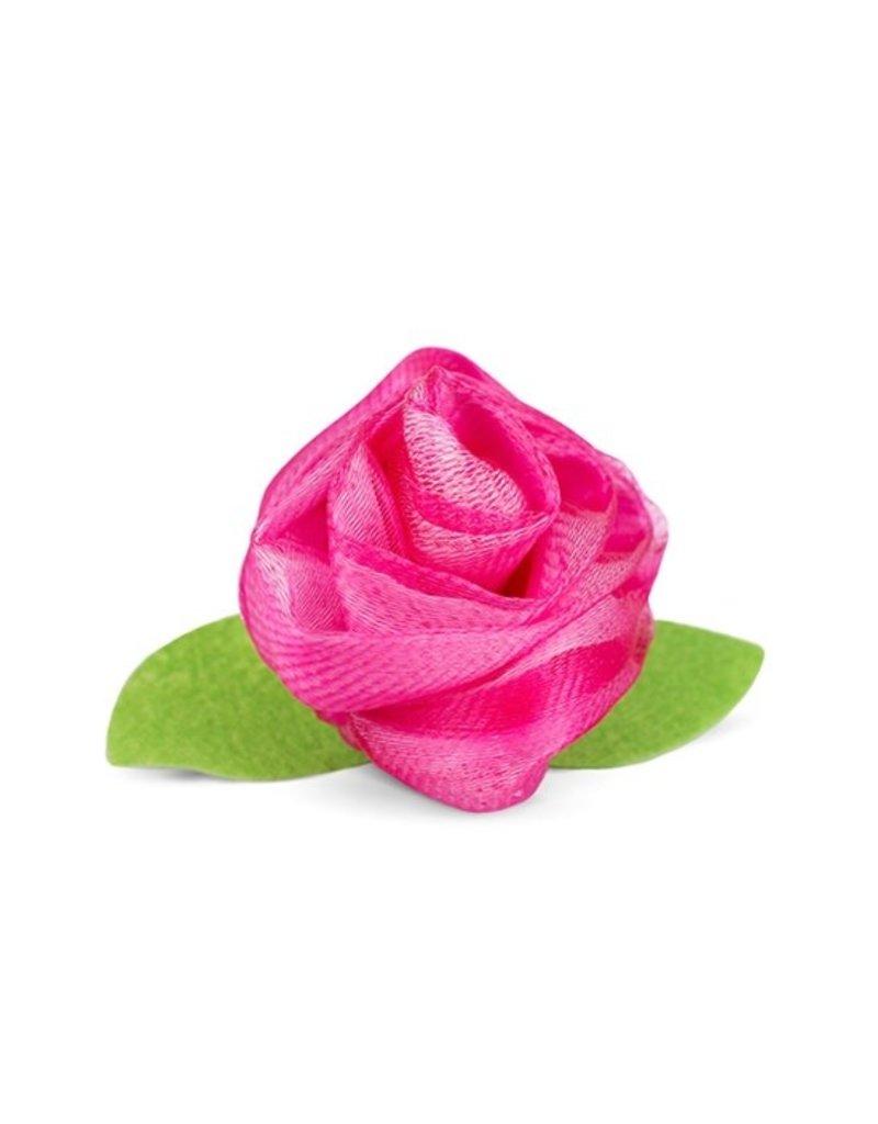 FinchBerry Blooming Rose Mesh Sponge