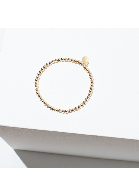 Larissa Loden Gold Filled Single Beaded Bracelet
