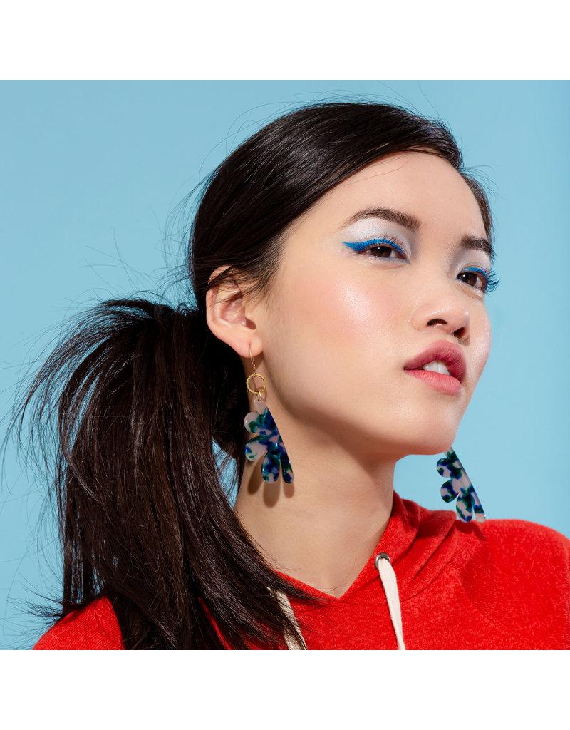 Larissa Loden Eden Earring White
