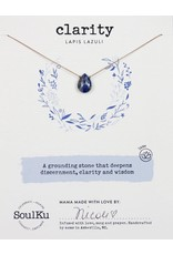 SoulKu Lapis Luxe Clarity Necklace