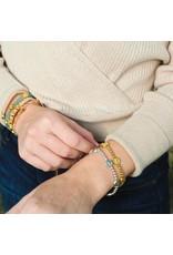My Saint My Hero Silver Benedictine Birthday Blessing Bracelet