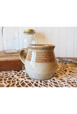 Barbarah Robertson Honey & Vanilla Handmade Pottery Mug