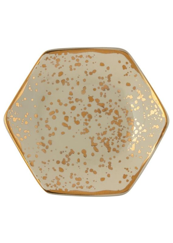 Karma Gold Honeycomb Trinket Tray