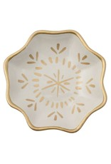 Karma White Boho Flower Trinket Tray