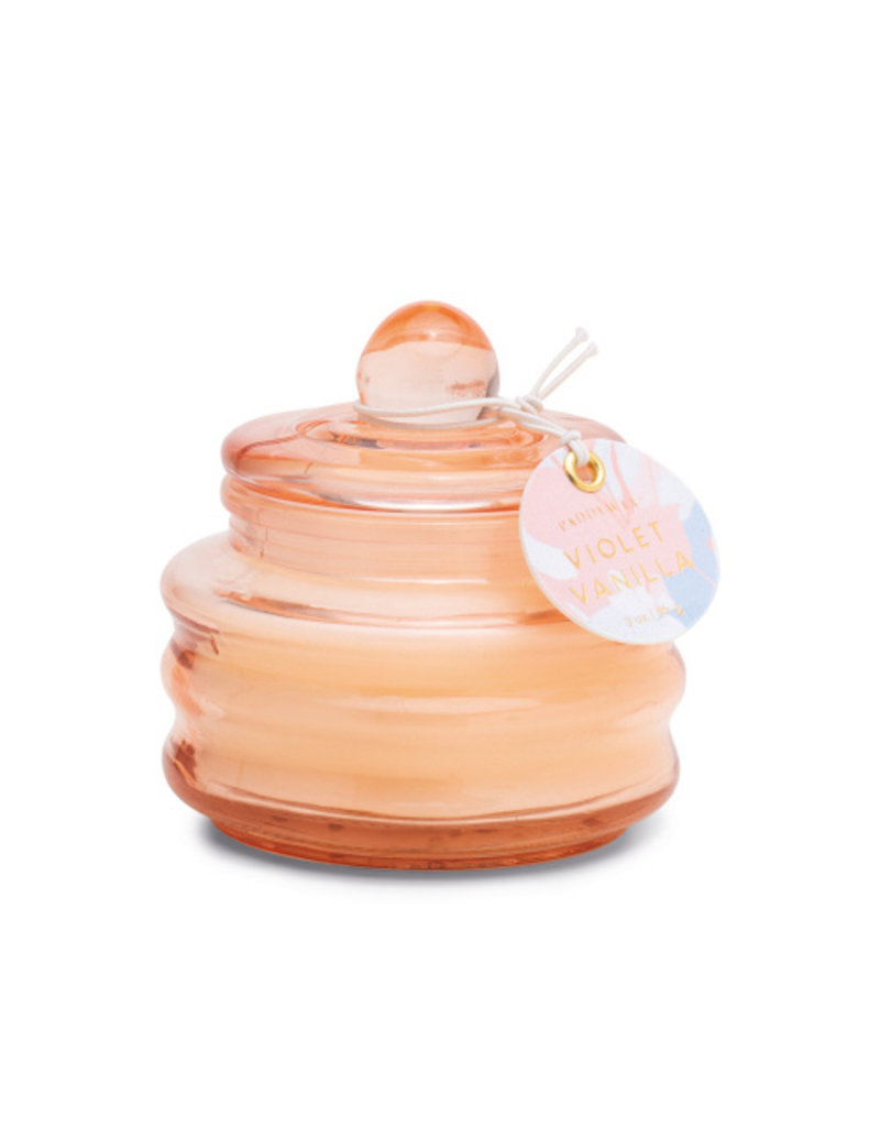 Paddywax Beam Violet Vanilla 3 oz Candle