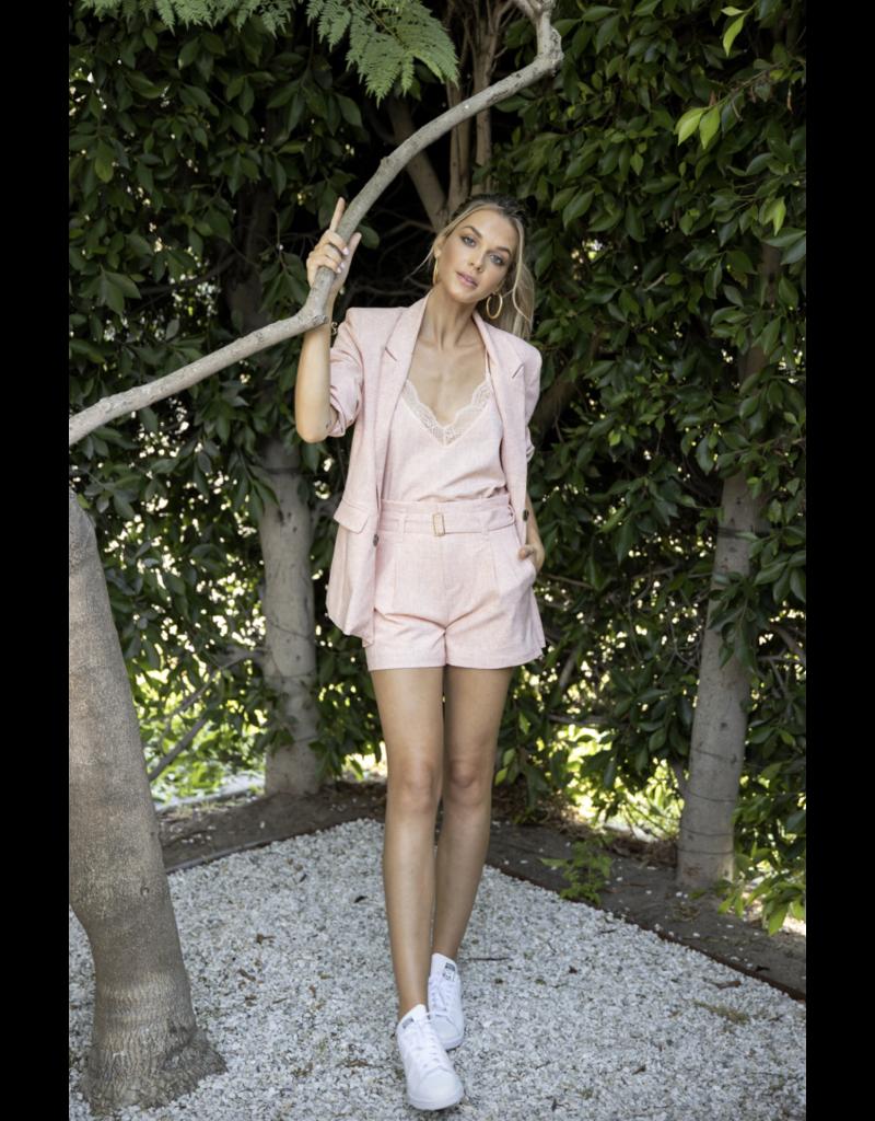 Bishop + Young Marigold Pink Montecito Blazer