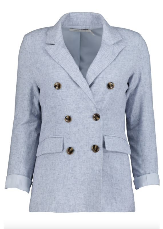 Bishop + Young Sky Blue Montecito Blazer