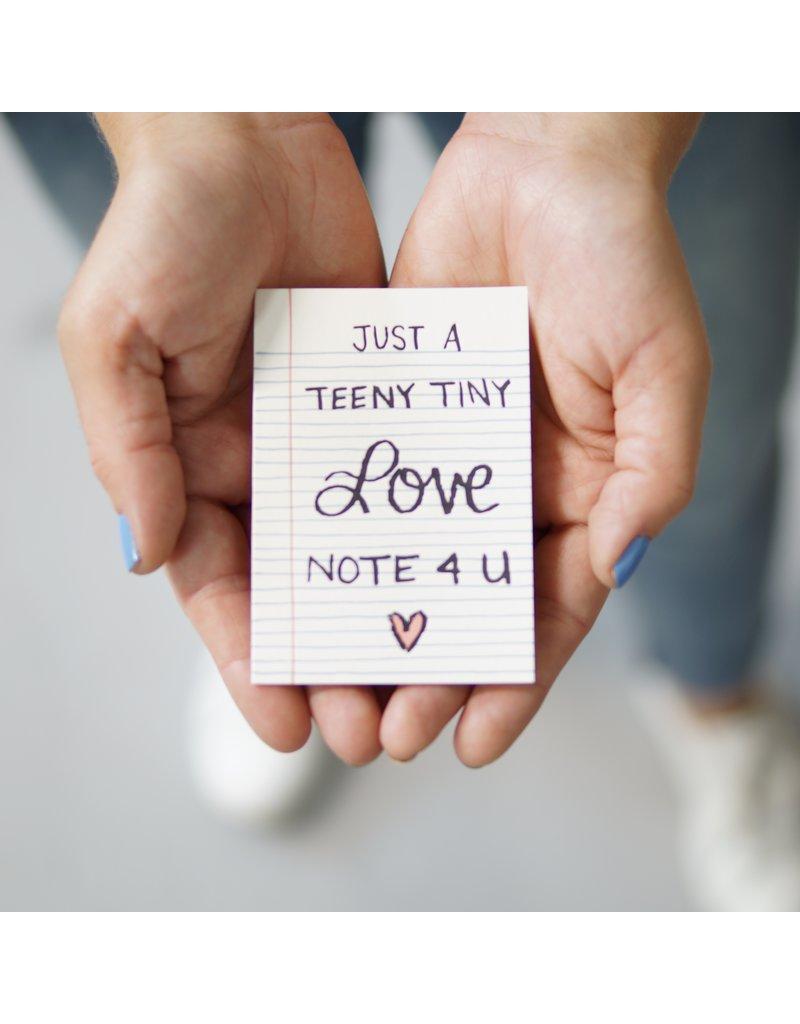 9th Letter Press Teeny Tiny Love Note Mini Card