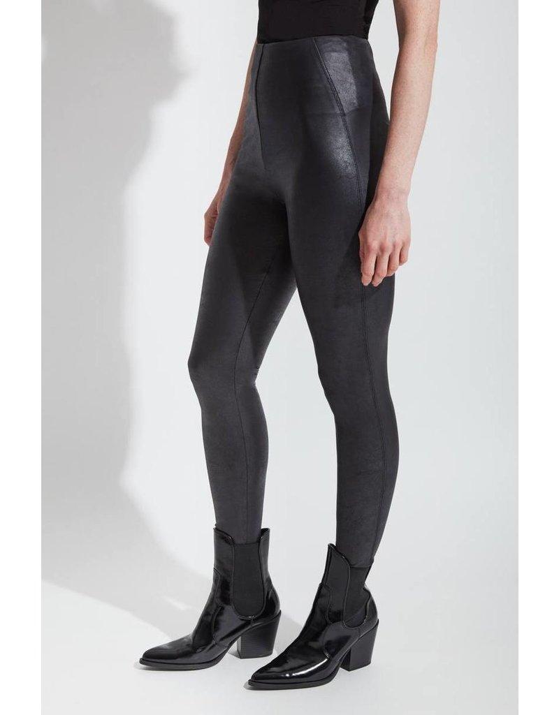 Lysse Black Matilda Foil Leggings