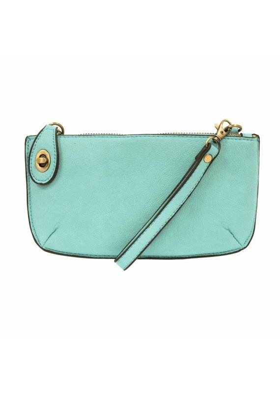 Joy Susan Aqua Mini Crossbody Clutch