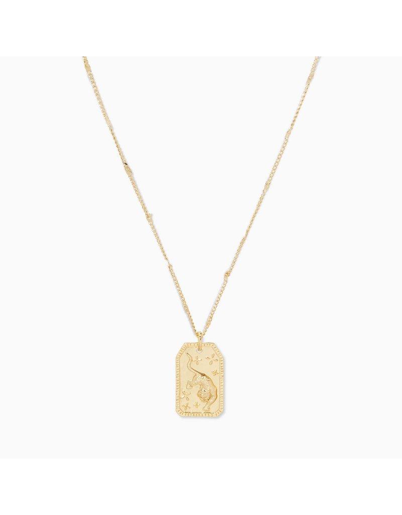 gorjana Tiger Totem Necklace